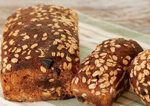 Pão de Farinha de BananaVerde - Pão de Farinha de Banana Verde