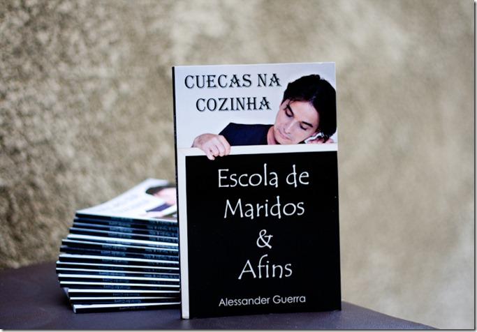 Livro Cuecas na Cozinha - Uma pitada do livro Cuecas na Cozinha