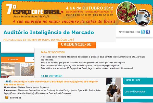 Espaco Cafe Brasil - Espaço Café Brasil