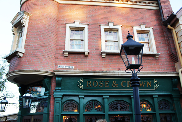 Rose Crown Pub Epcot Home - Rose & Crown - Pub inglês no Epcot