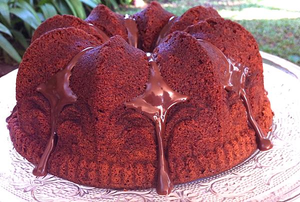 Bolo de Chocolate Condessa - Bolo de Chocolate sem glúten e sem lactose