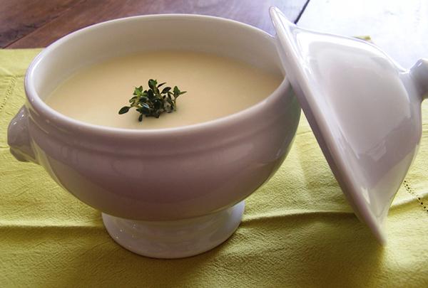 Creme de pupunha1 Home - Receita de Creme de Palmito