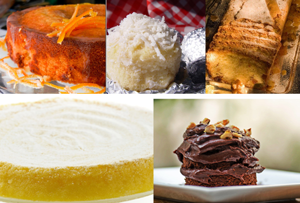 Bolos deliciosos - Receitas de bolo gostoso e diferente