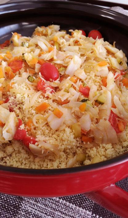 Receitas de Bacalhau  Couscous de Bacalhau 2 bx - 20 Receitas de Bacalhau