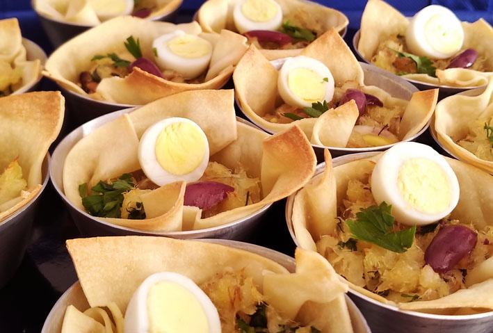 Receitas deliciosas de Bacalhau  Cestinha de bacalhau 2 - 20 Receitas de Bacalhau