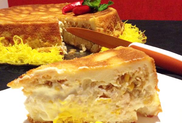 Torta de Frango Guia do Lugarzinho Home - Torta Cremosa de Frango