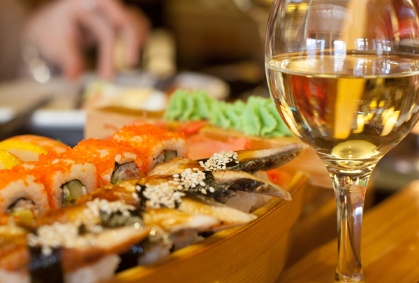 Comida japonesa - Como Harmonizar Vinhos com Pratos Diferentes