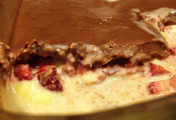 Sobremesa Deliciosa com chocolate - Sobremesa Deliciosa com Chocolate