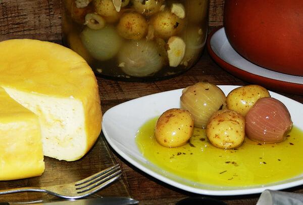Picles de Cebola e Batata home - Receitas com Batata