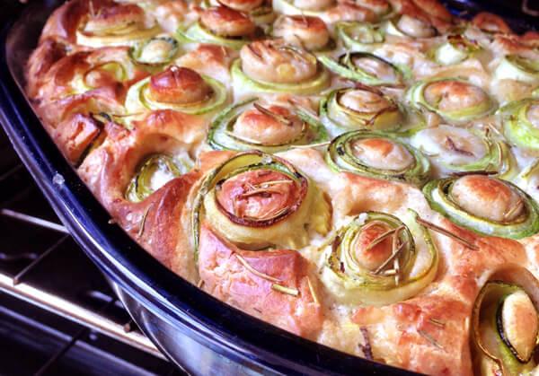 Torta de Abobrinha Home - Abobrinha deliciosa