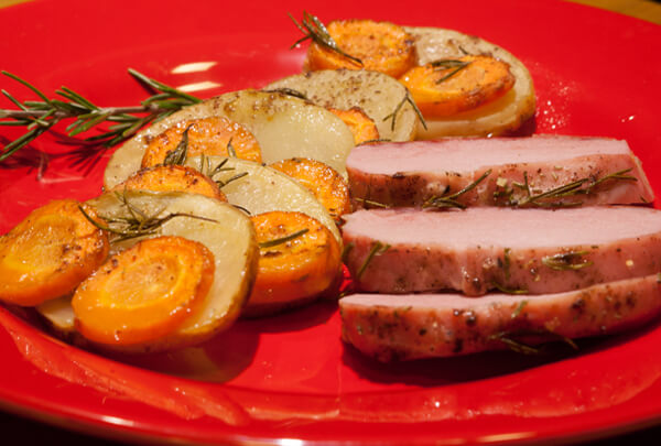 Carne de porco assada1 foto Cuecas na Cozinha - Carne de Porco Assada