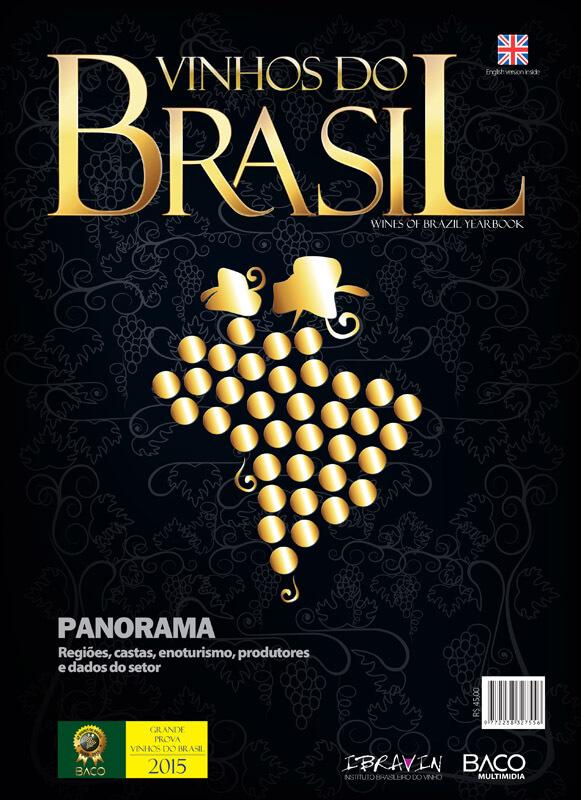 Capa Anuário Vinhos do Brasil 2015 BACO Multimídia - Melhores Vinhos do Brasil