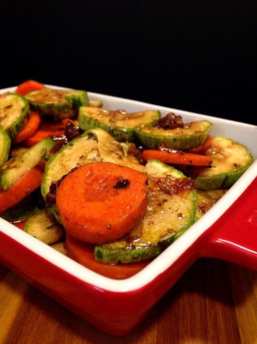 Deliciosos Vegetais ao Forno