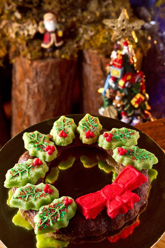 Coroa Doce de Natal foto Kadu Schiavo - Massa especial com cogumelos