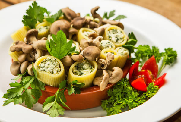 Floresta Trafilati Lenz M - Massa especial com cogumelos