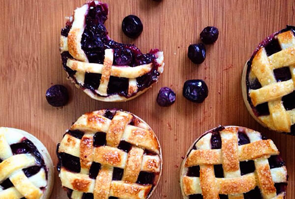 Torta de Blueberry chef Lucas Corazza - Torta de Blueberry