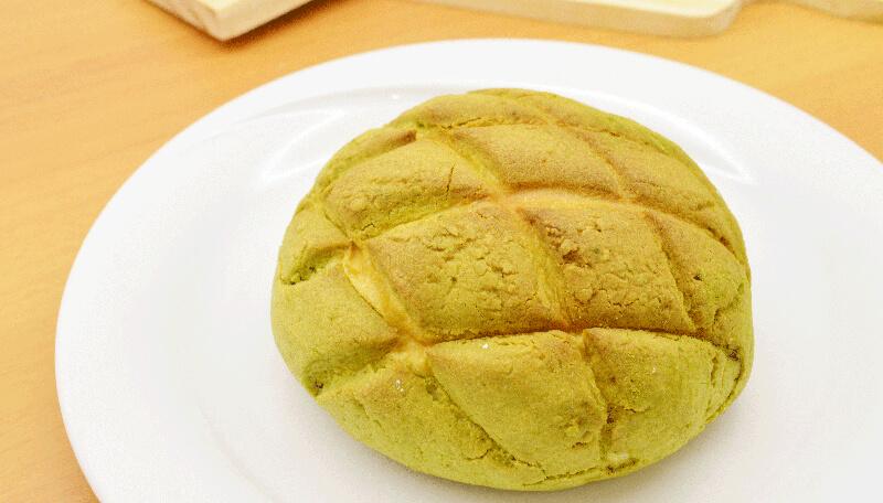 Moti Moti Cake Shop Melon Pan Matcha foto divulgação - Moti Moti Cake Shop