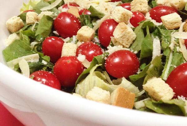 Salada fácil e deliciosa foto Cuecas na Cozinha home - Salada fácil e deliciosa