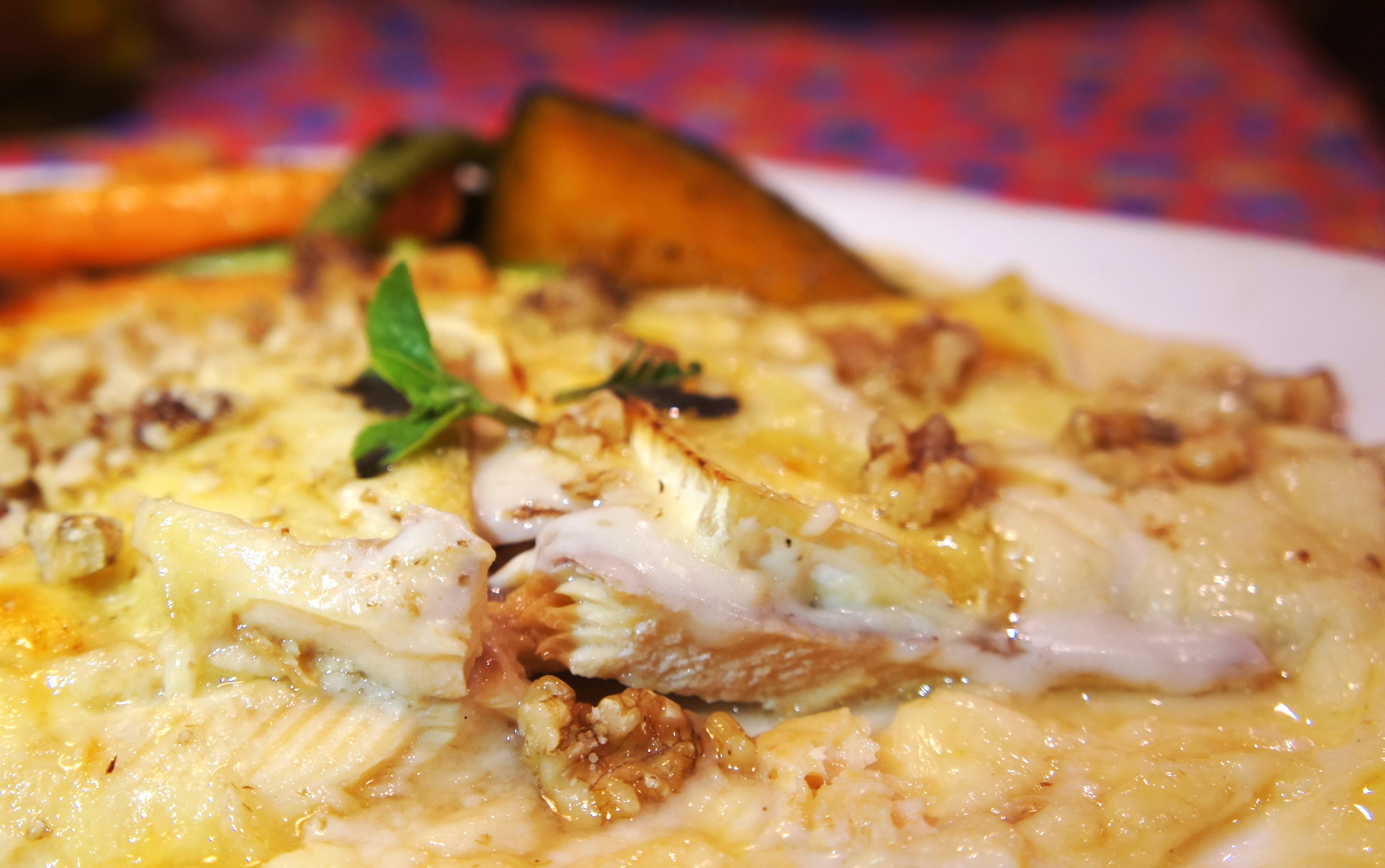 Donna Pinha Truta defumada ao Brie foto Cuecas na Cozinha - Restaurante Donna Pinha