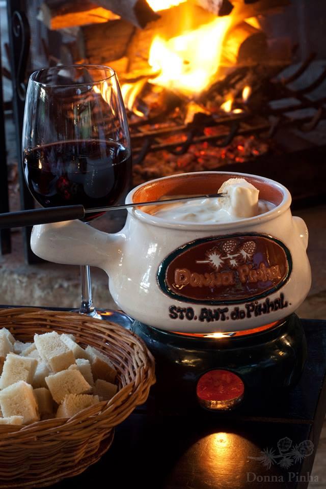 Donna Pinha fondue de queijo - Restaurante Donna Pinha