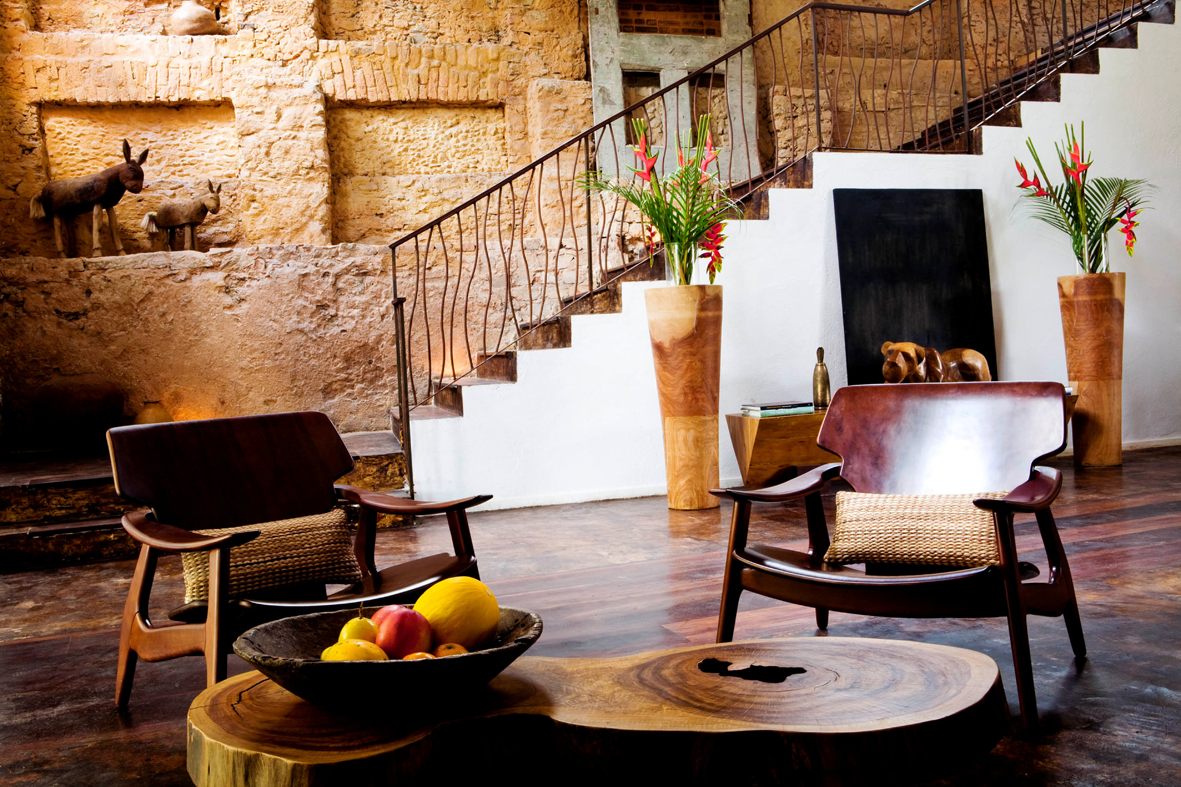 Hotel Santa Teresa lobby - Hotel Santa Teresa - restaurante Térèze