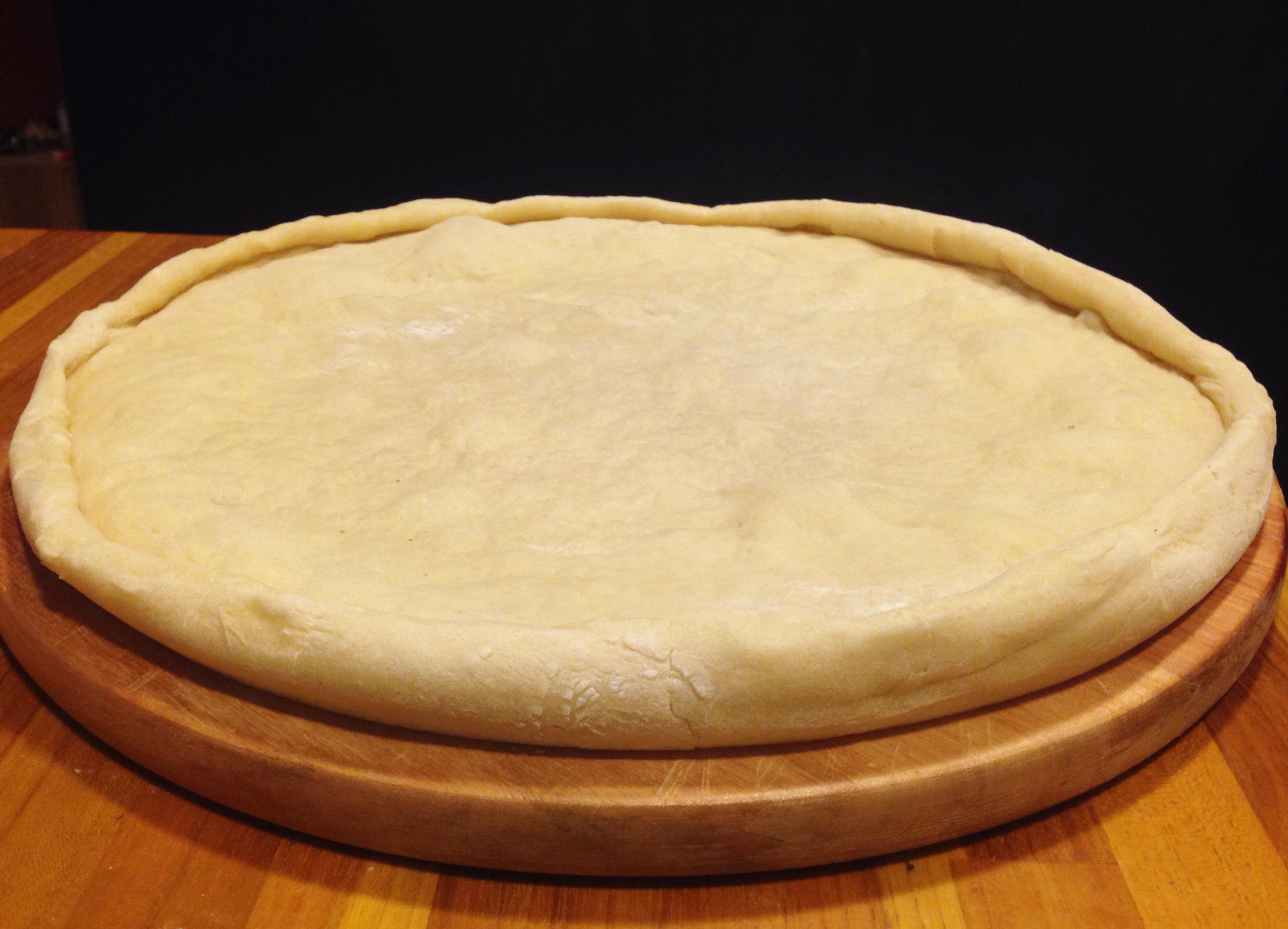 Massa de Pizza - Como fazer massa de pizza em casa - receita deliciosa