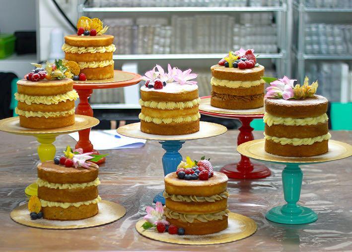 Como fazer um bolo perfeito  Naked Cake - Como fazer um bolo perfeito