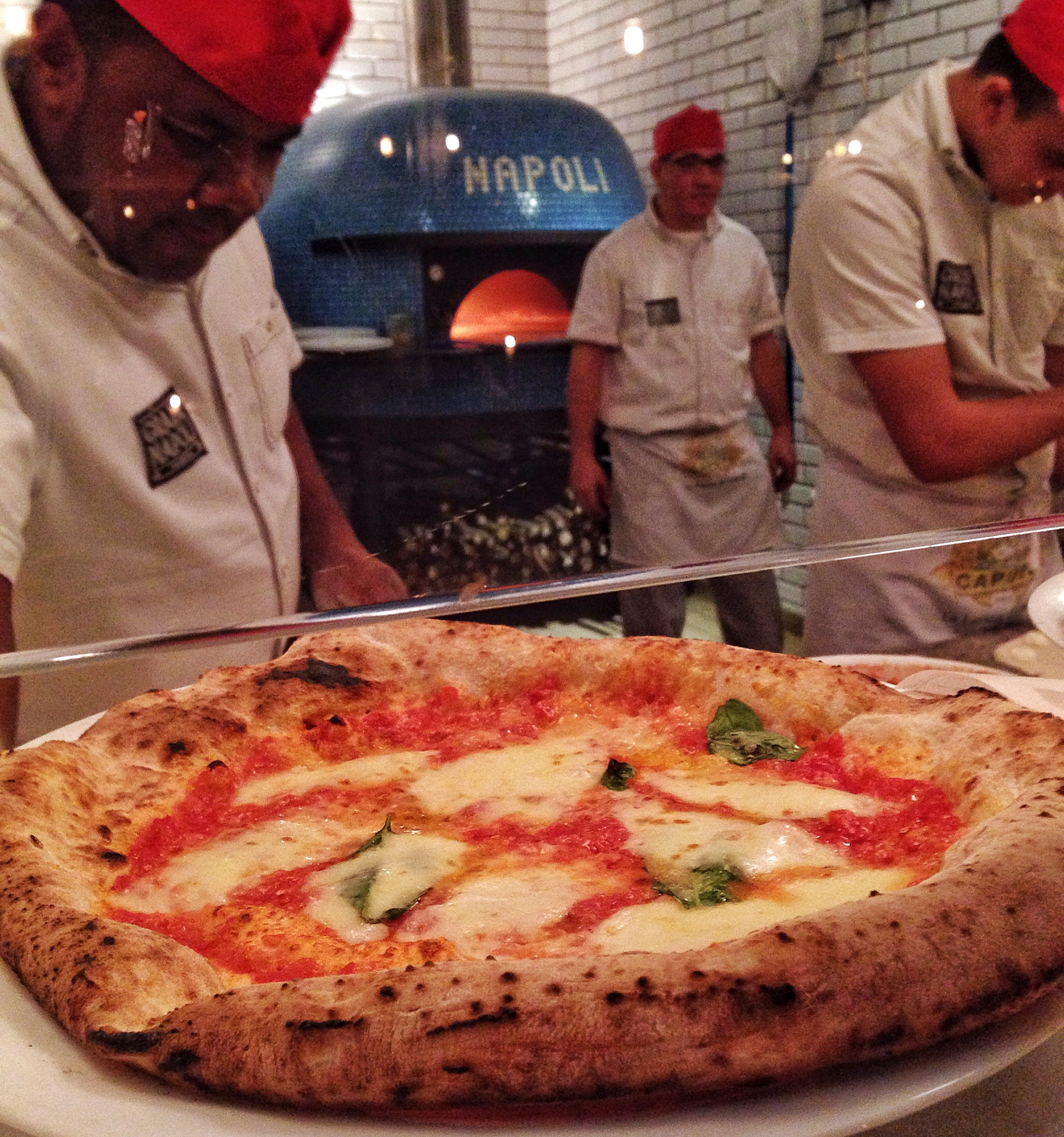 Grazie Napoli foto Cuecas na Cozinha - Grazie Napoli - pizzaria à moda de Nápoles