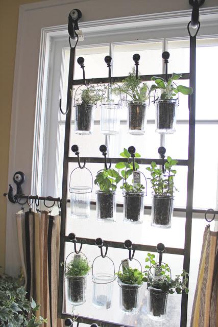 Horta em casa 8 - Horta em casa –boas ideias com toque especial na decoração