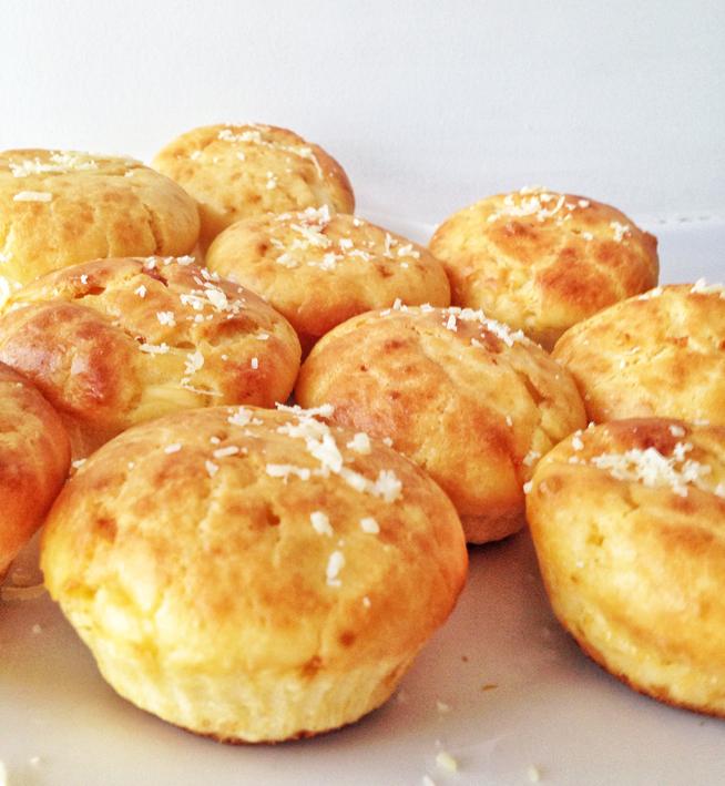 Receita de muffin salgado  Cuecas na Cozinha - Receita de muffin salgado