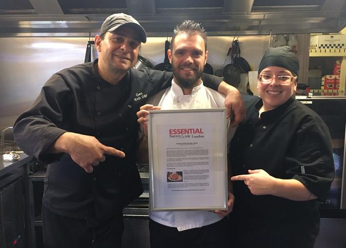 Um chef de cozinha em Londres chefs Geo Bassani Lima Laís Bereta e Gustavo Dias - Um chef de cozinha em Londres