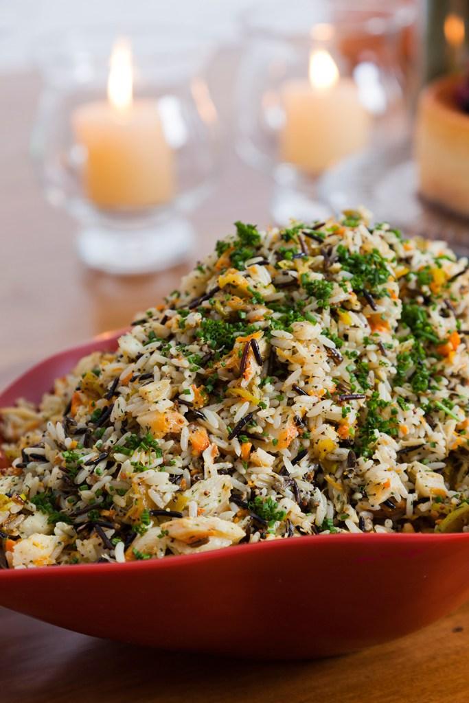 Dicas para Ceia de Ano Novo  salada escandinava de haddock - Dicas para Ceia de Ano Novo