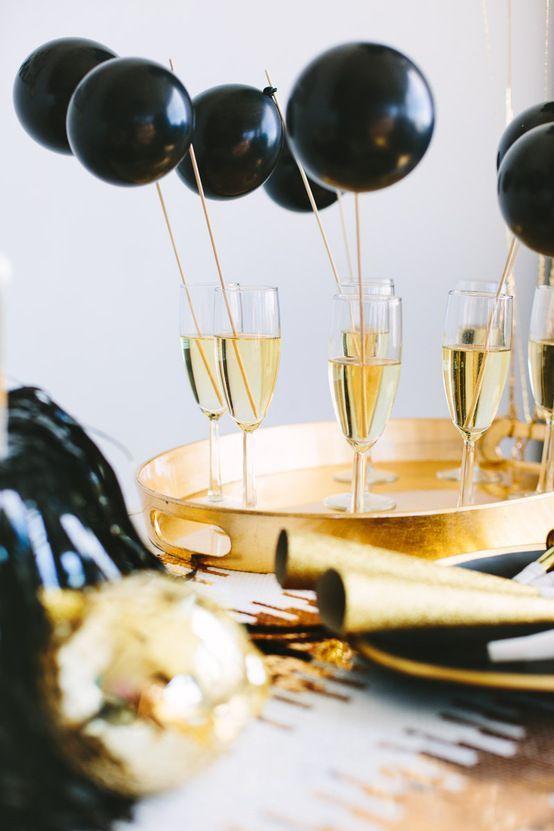 Ideias para decorar casa e mesa para o Ano Novo  02 - Ideias para decorar casa e mesa para o Ano Novo