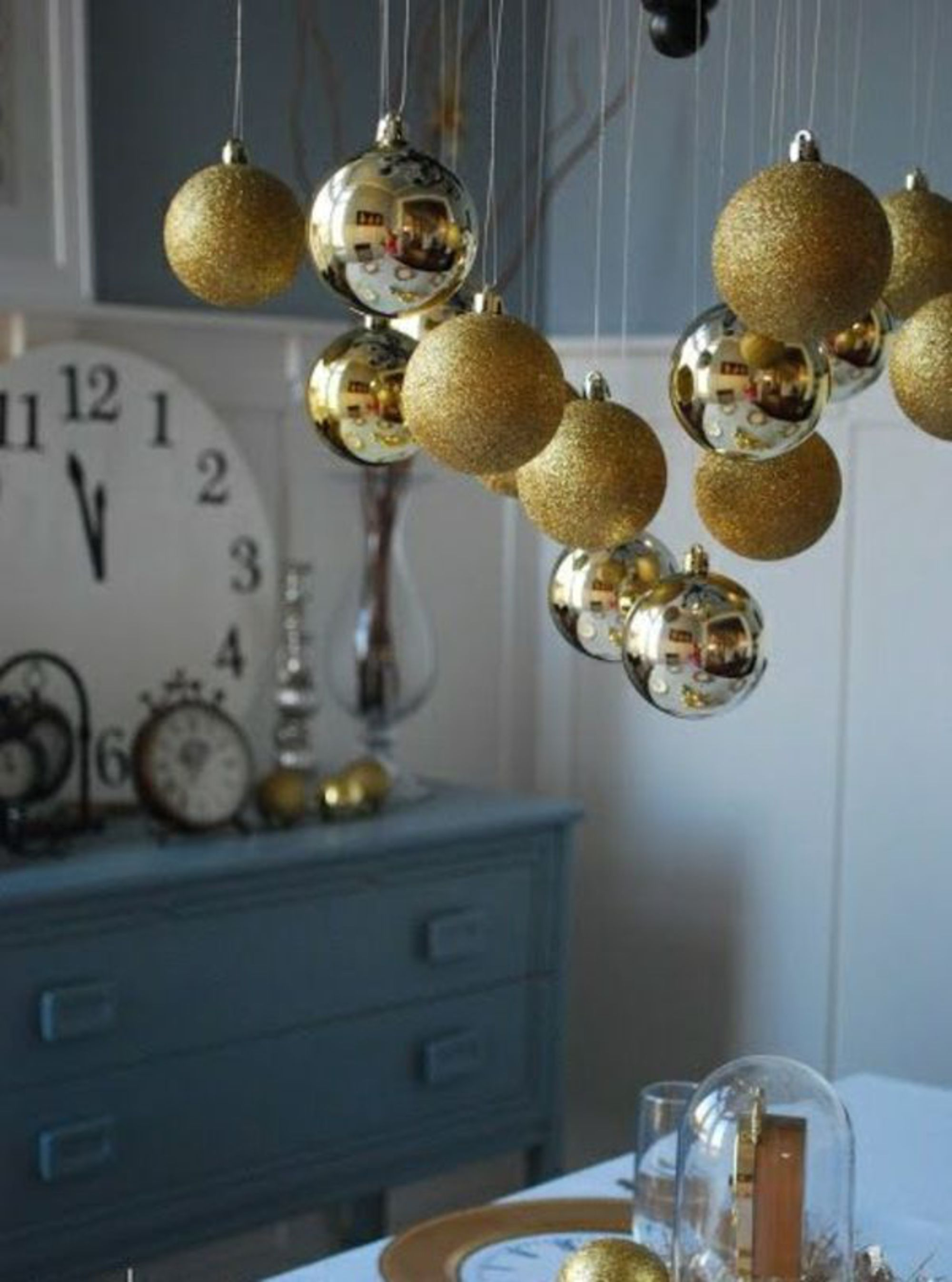 Ideias para decorar casa e mesa para o Ano Novo  10 - Ideias para decorar casa e mesa para o Ano Novo
