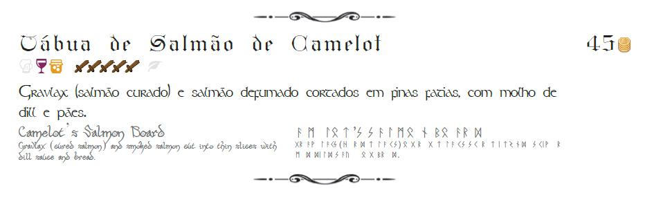 Taverna Medieval  Legenda do Cardapio2 - Taverna Medieval
