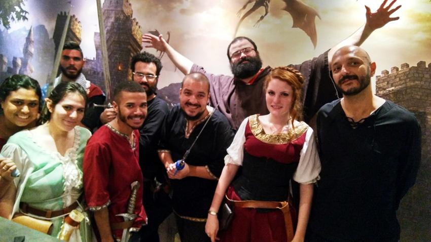Taverna Medieval  atendentes - Taverna Medieval