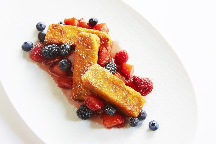 Experiências Gastronômicas pelo Mundo  Lotte New York Palace  BriocheFrenchToast - Experiências Gastronômicas pelo Mundo