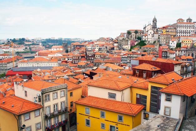 Onde comer bem e barato no Porto  Vista do Terreiro da Sé - Onde comer bem e barato no Porto