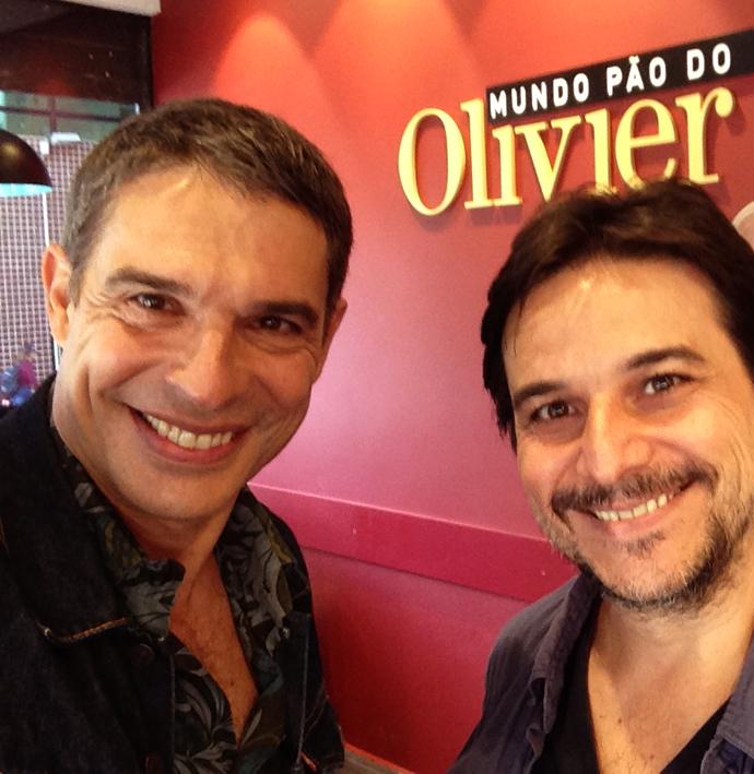 Mundo Pão do Olivier  Olivier Anquier e Alessander Guerra - Mundo Pão do Olivier