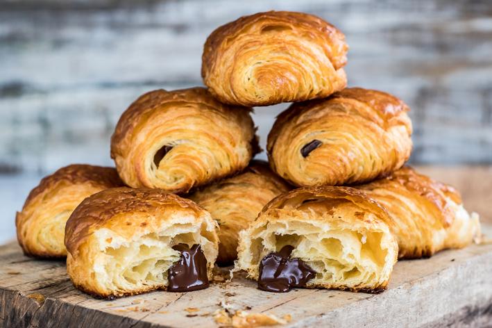 Mundo Pão do Olivier  croissant recheado com chocolate foto leo feltran - Mundo Pão do Olivier