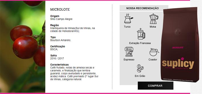 Suplicy Cafes Especiais   ecommerce - Suplicy Cafés Especiais
