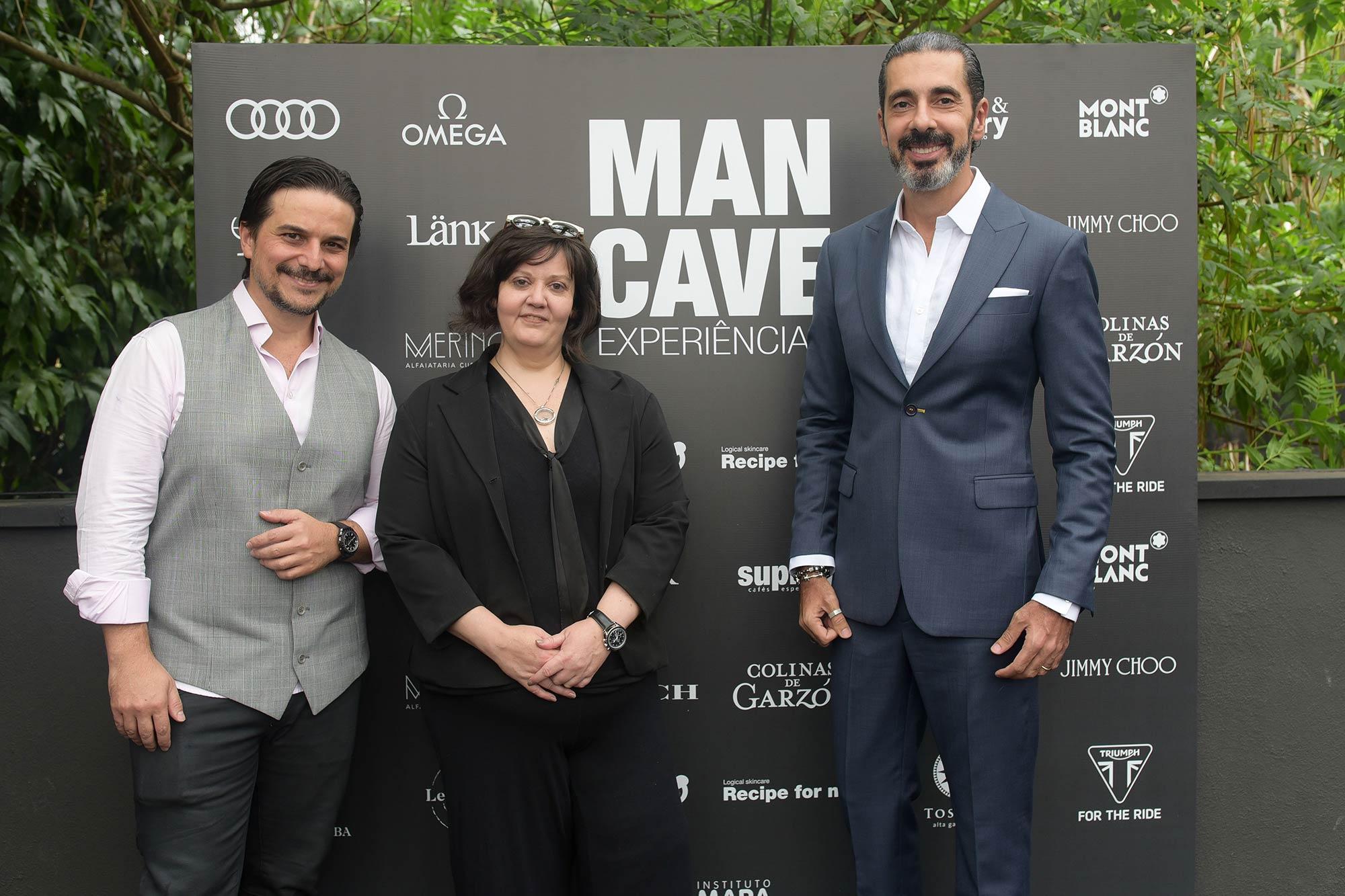 Man Cave Experiências Alessander Guerra Daniella Abolin e Alexandre Taleb 6 - Man Cave Experiências