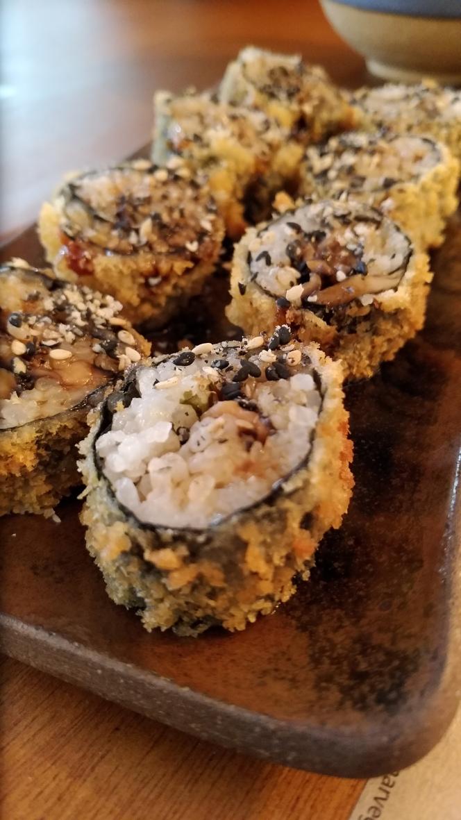 Sushimar Vegano  hot rolls - Sushimar Vegano