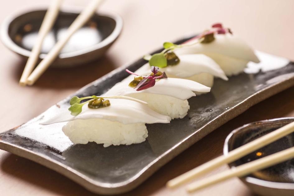 Sushimar Vegano  sushi de coco - Sushimar Vegano