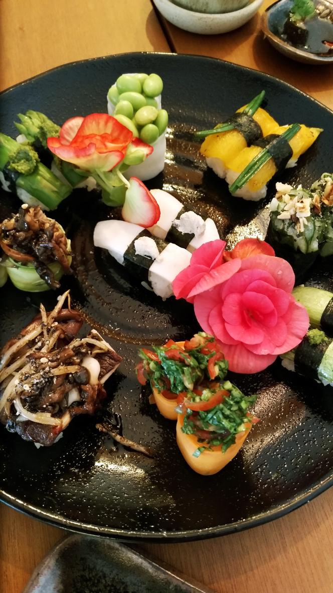 Sushimar Vegano  sushi - Sushimar Vegano