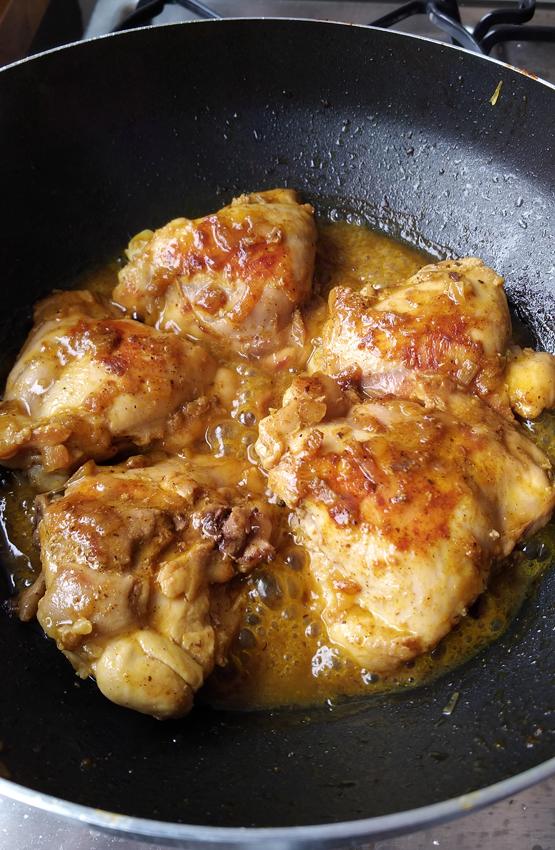Arroz com Frango ao Curry - Arroz com Frango ao Curry