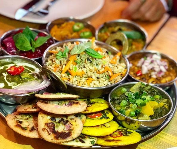 Dieta a Base de Plantas  restaurante Dosa Bar Tel Aviv - Dieta à Base de Plantas