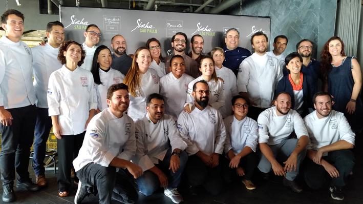 Sirha São Paulo  chefs apresetacao  - Sirha São Paulo