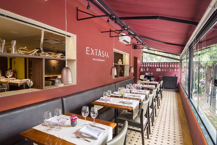 Extasia restaurante  Varanda - Extásia restaurante