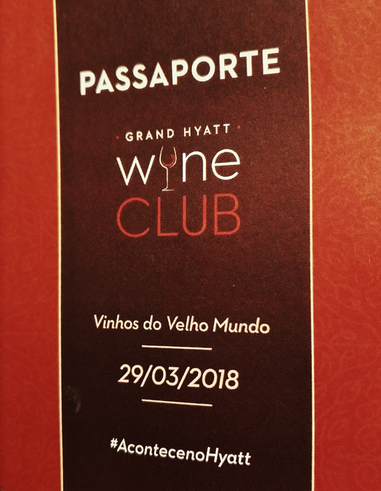 Grand Hyatt Wine Club